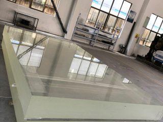 1 colio akrilo stiklo lakštas, plexi stiklas, storas plastiko pompa lapas šiltnamio efektą sukeliančių dangų