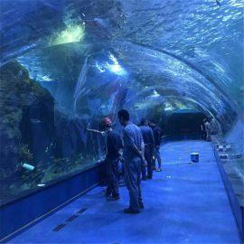 Akrilo tunelio oceanarium projektas viešuose akvariumuose