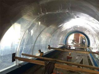 Individualus akrilo plombos akrilo tunelio akrilo projektas