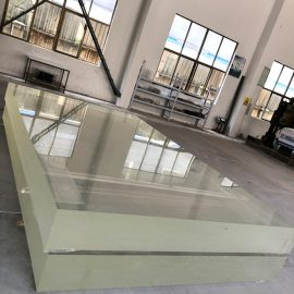 kristalinis akrilinis lakštas plokščias plastmasinis storas lakštas