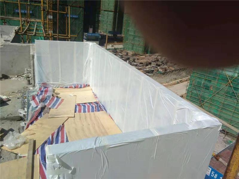 90 mm dydžio akrilo padengti baseinas