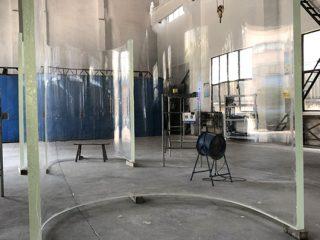 aukštos kokybės akrilo lenkta akvariumo grandview stiklo plokštės plokštės