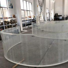 veidrodis akrilinis išlenktas plastikinis lakštas žuvų bako akvariumuose